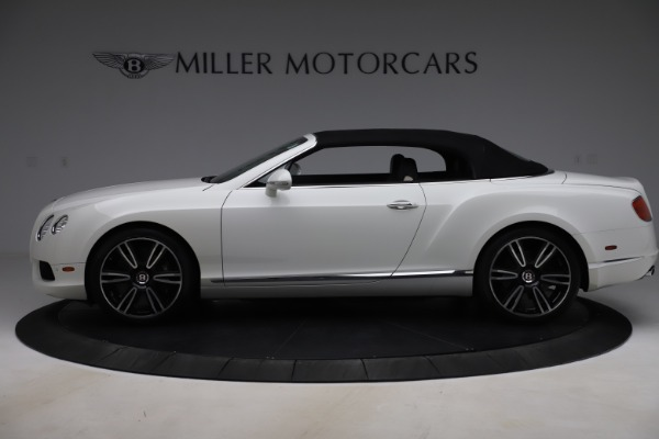 Used 2014 Bentley Continental GTC V8 for sale $106,900 at Bugatti of Greenwich in Greenwich CT 06830 14