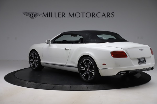 Used 2014 Bentley Continental GTC V8 for sale $106,900 at Bugatti of Greenwich in Greenwich CT 06830 15
