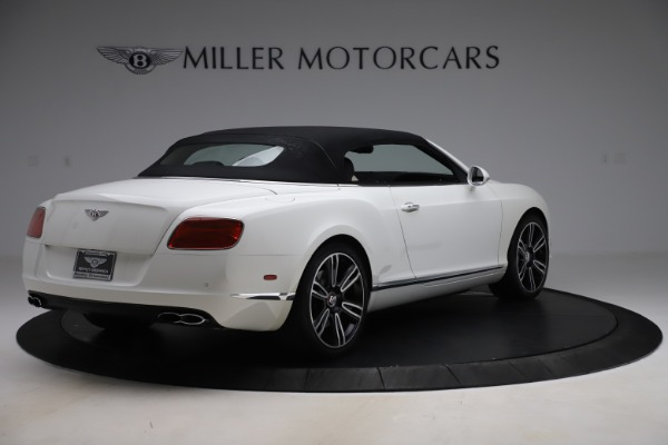 Used 2014 Bentley Continental GTC V8 for sale $106,900 at Bugatti of Greenwich in Greenwich CT 06830 16