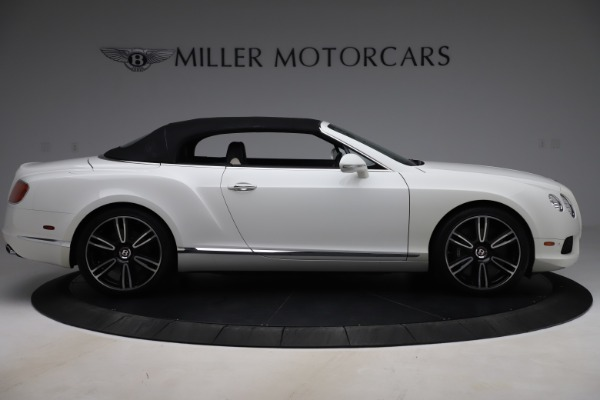 Used 2014 Bentley Continental GTC V8 for sale $106,900 at Bugatti of Greenwich in Greenwich CT 06830 17