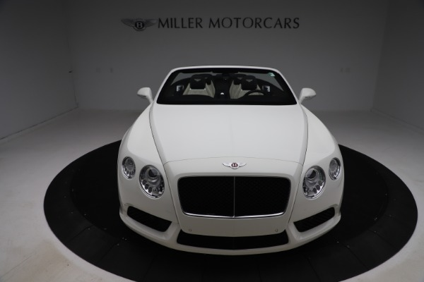 Used 2014 Bentley Continental GTC V8 for sale $106,900 at Bugatti of Greenwich in Greenwich CT 06830 19