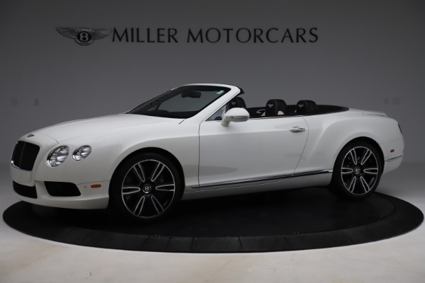 Used 2014 Bentley Continental GTC V8 for sale $106,900 at Bugatti of Greenwich in Greenwich CT 06830 2