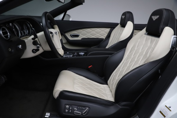 Used 2014 Bentley Continental GTC V8 for sale $106,900 at Bugatti of Greenwich in Greenwich CT 06830 27