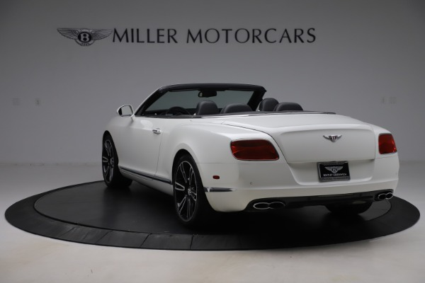 Used 2014 Bentley Continental GTC V8 for sale $106,900 at Bugatti of Greenwich in Greenwich CT 06830 5