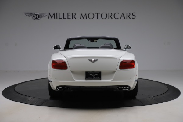 Used 2014 Bentley Continental GTC V8 for sale $106,900 at Bugatti of Greenwich in Greenwich CT 06830 6