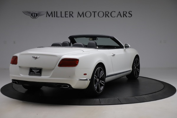 Used 2014 Bentley Continental GTC V8 for sale $106,900 at Bugatti of Greenwich in Greenwich CT 06830 7