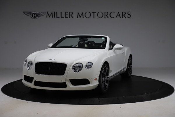 Used 2014 Bentley Continental GT Convertible V8 for sale $106,900 at Bugatti of Greenwich in Greenwich CT 06830 1