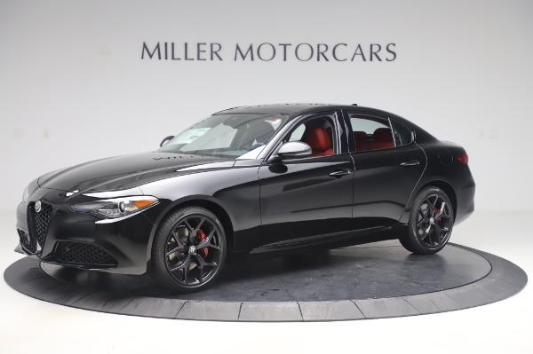 New 2020 Alfa Romeo Giulia Q4 for sale $48,445 at Bugatti of Greenwich in Greenwich CT 06830 2