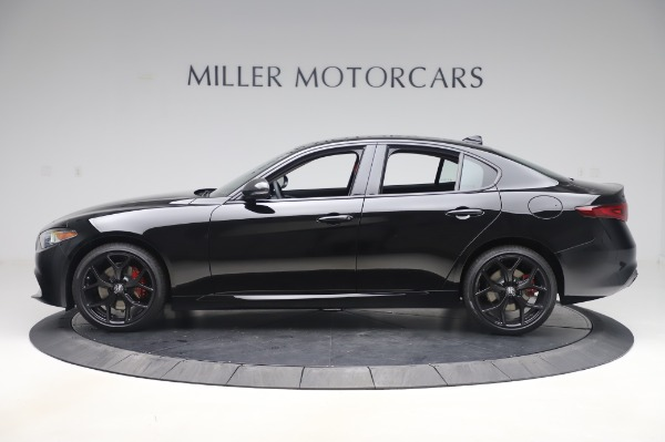 New 2020 Alfa Romeo Giulia Q4 for sale $48,445 at Bugatti of Greenwich in Greenwich CT 06830 3