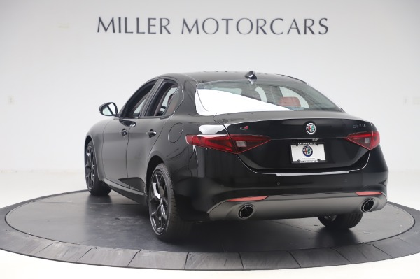 New 2020 Alfa Romeo Giulia Q4 for sale $48,445 at Bugatti of Greenwich in Greenwich CT 06830 5