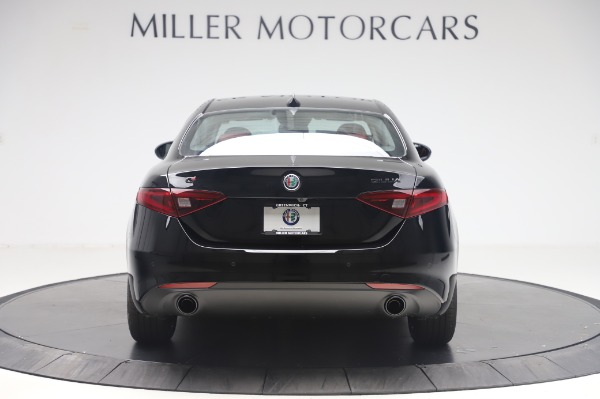 New 2020 Alfa Romeo Giulia Q4 for sale $48,445 at Bugatti of Greenwich in Greenwich CT 06830 6