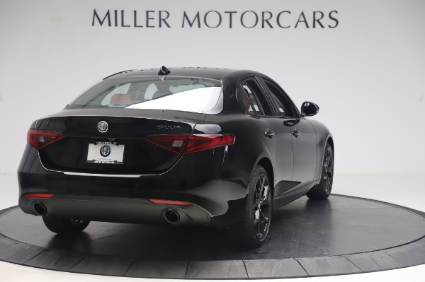 New 2020 Alfa Romeo Giulia Q4 for sale $48,445 at Bugatti of Greenwich in Greenwich CT 06830 7