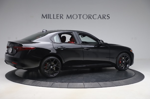 New 2020 Alfa Romeo Giulia Q4 for sale $48,445 at Bugatti of Greenwich in Greenwich CT 06830 8