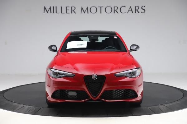 New 2020 Alfa Romeo Giulia Sport Q4 for sale Call for price at Bugatti of Greenwich in Greenwich CT 06830 12