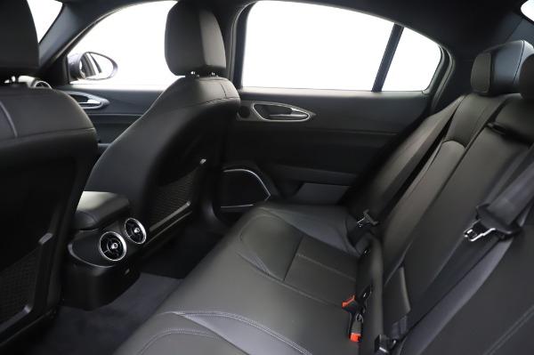 New 2020 Alfa Romeo Giulia Sport Q4 for sale Call for price at Bugatti of Greenwich in Greenwich CT 06830 19