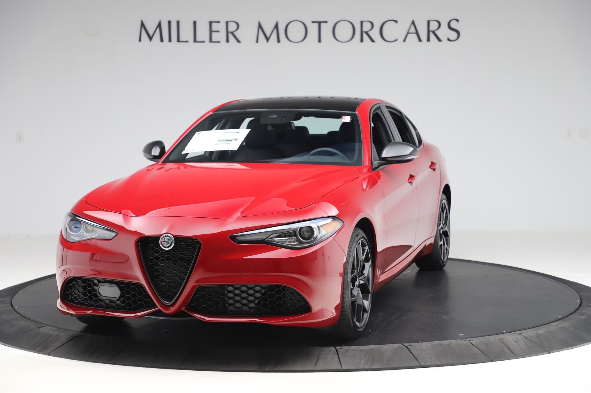 New 2020 Alfa Romeo Giulia Sport Q4 for sale Call for price at Bugatti of Greenwich in Greenwich CT 06830 1