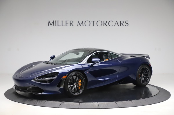 Used 2018 McLaren 720S Luxury for sale Call for price at Bugatti of Greenwich in Greenwich CT 06830 1
