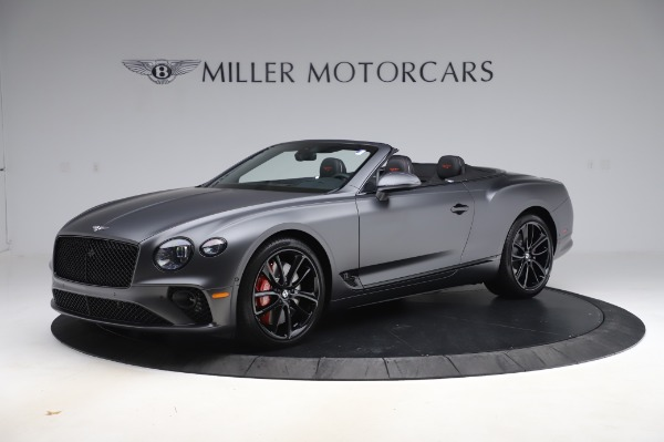 New 2020 Bentley Continental GTC W12 for sale $329,600 at Bugatti of Greenwich in Greenwich CT 06830 2