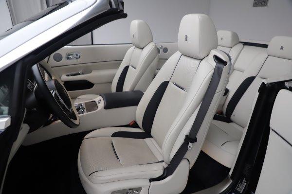 Used 2017 Rolls-Royce Dawn Base for sale $248,900 at Bugatti of Greenwich in Greenwich CT 06830 21