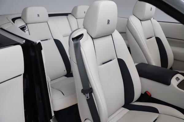Used 2017 Rolls-Royce Dawn Base for sale $248,900 at Bugatti of Greenwich in Greenwich CT 06830 22