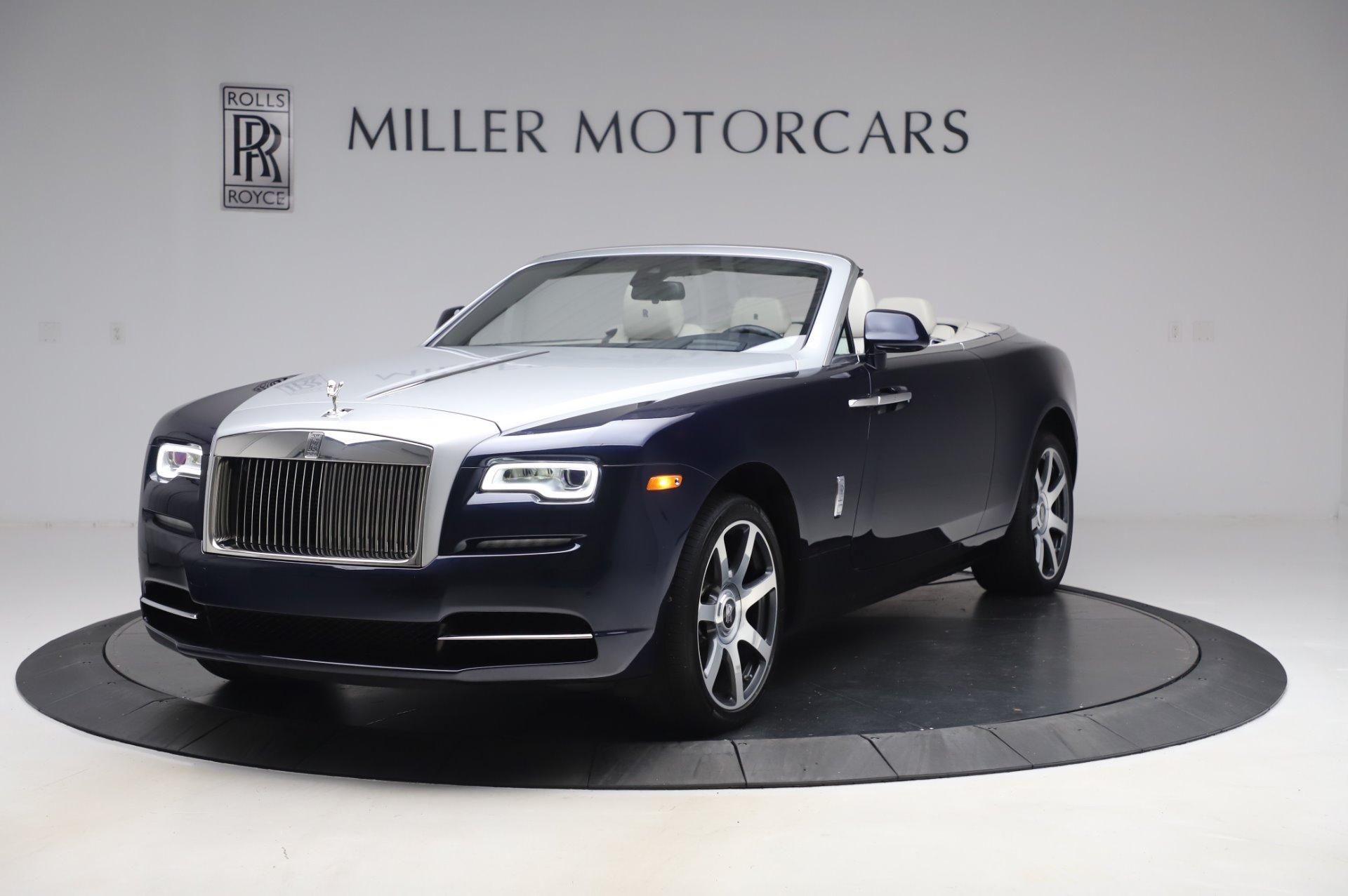 Used 2017 Rolls-Royce Dawn Base for sale $248,900 at Bugatti of Greenwich in Greenwich CT 06830 1