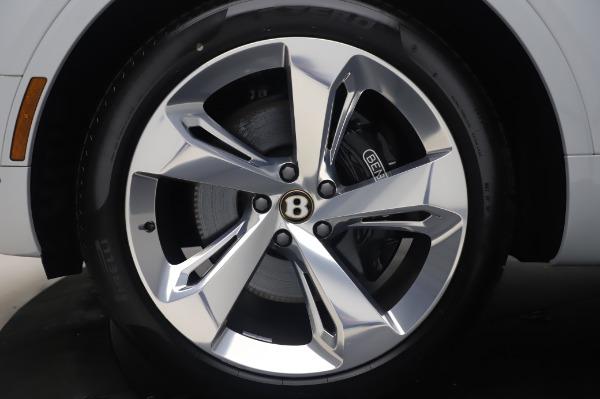 New 2020 Bentley Bentayga Hybrid for sale $220,475 at Bugatti of Greenwich in Greenwich CT 06830 15