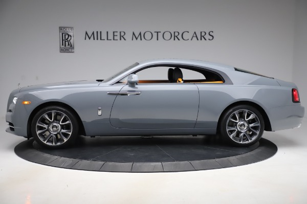 New 2020 Rolls-Royce Wraith for sale $405,625 at Bugatti of Greenwich in Greenwich CT 06830 3