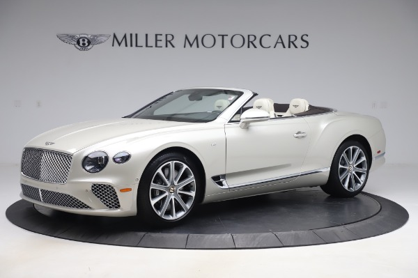 New 2020 Bentley Continental GTC V8 for sale Sold at Bugatti of Greenwich in Greenwich CT 06830 2