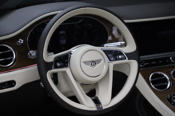 New 2020 Bentley Continental GTC V8 for sale Sold at Bugatti of Greenwich in Greenwich CT 06830 28
