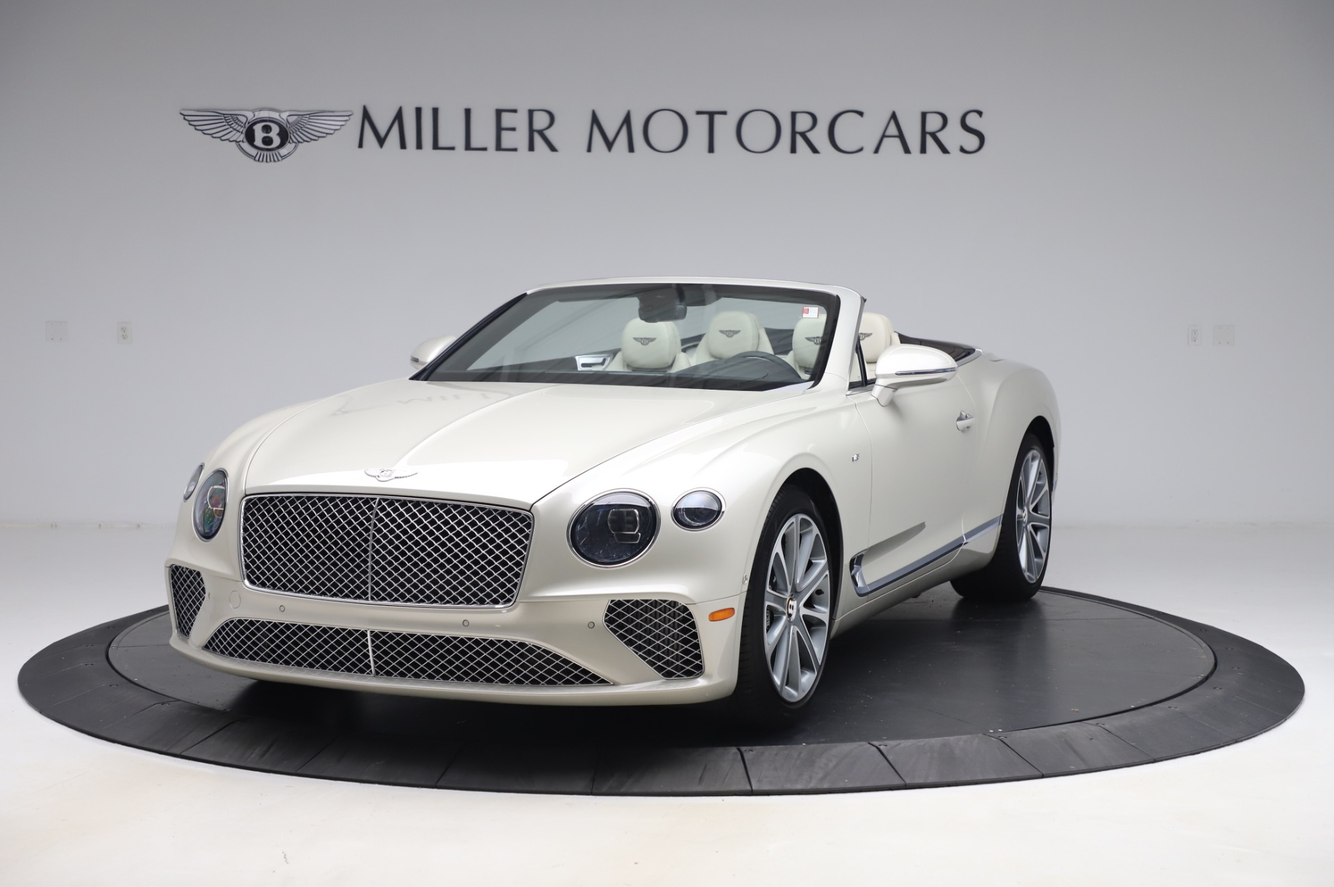 New 2020 Bentley Continental GTC V8 for sale Sold at Bugatti of Greenwich in Greenwich CT 06830 1