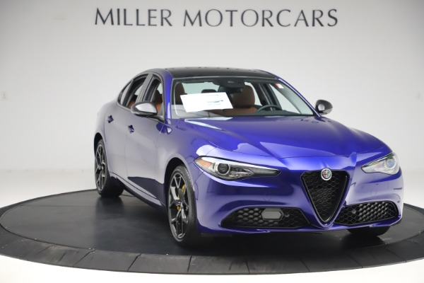 New 2020 Alfa Romeo Giulia Ti Q4 for sale $51,145 at Bugatti of Greenwich in Greenwich CT 06830 11