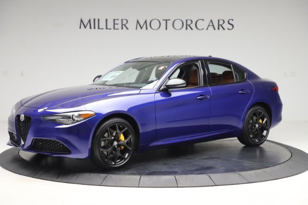 New 2020 Alfa Romeo Giulia Ti Q4 for sale $51,145 at Bugatti of Greenwich in Greenwich CT 06830 2