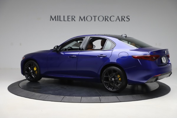 New 2020 Alfa Romeo Giulia Ti Q4 for sale $51,145 at Bugatti of Greenwich in Greenwich CT 06830 4