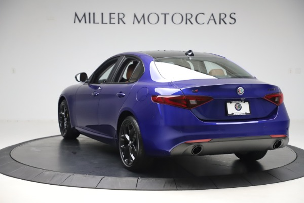 New 2020 Alfa Romeo Giulia Ti Q4 for sale $51,145 at Bugatti of Greenwich in Greenwich CT 06830 5