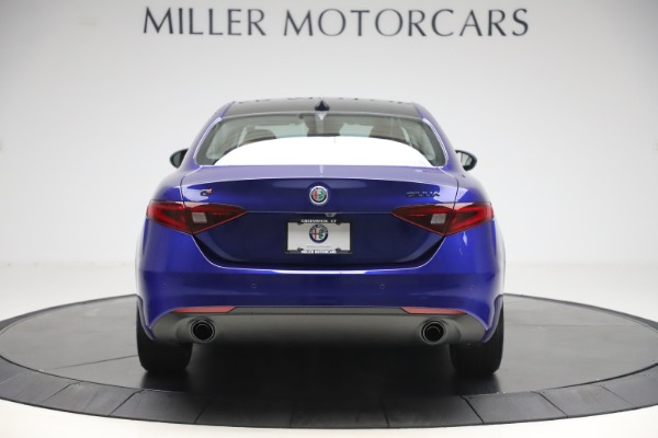 New 2020 Alfa Romeo Giulia Ti Q4 for sale $51,145 at Bugatti of Greenwich in Greenwich CT 06830 6