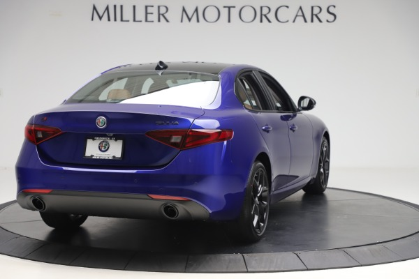 New 2020 Alfa Romeo Giulia Ti Q4 for sale $51,145 at Bugatti of Greenwich in Greenwich CT 06830 7
