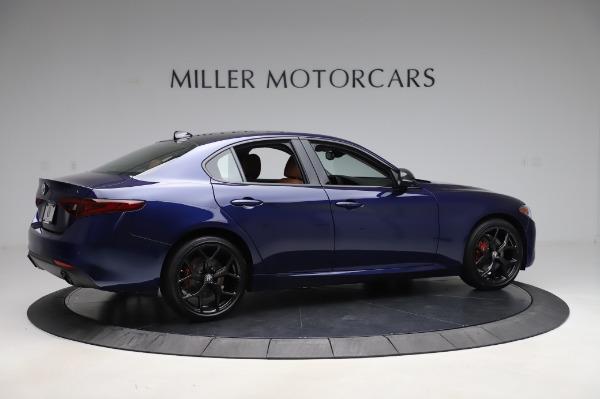 New 2020 Alfa Romeo Giulia Q4 for sale $42,845 at Bugatti of Greenwich in Greenwich CT 06830 7