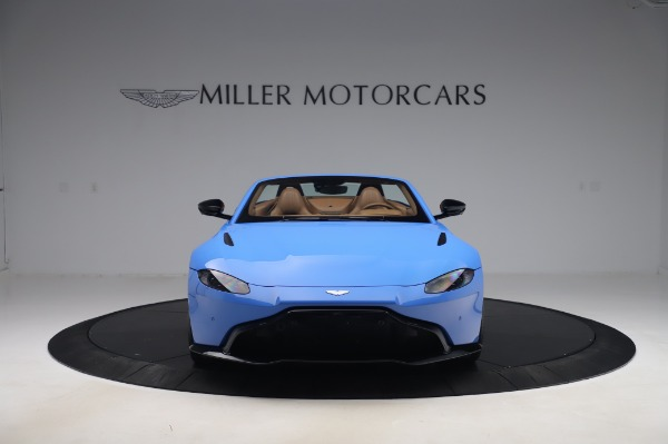 New 2021 Aston Martin Vantage Roadster for sale Call for price at Bugatti of Greenwich in Greenwich CT 06830 11