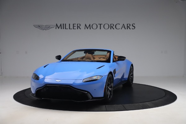 New 2021 Aston Martin Vantage Roadster for sale Call for price at Bugatti of Greenwich in Greenwich CT 06830 12
