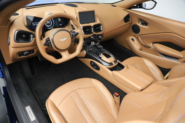 New 2021 Aston Martin Vantage Roadster for sale Call for price at Bugatti of Greenwich in Greenwich CT 06830 13