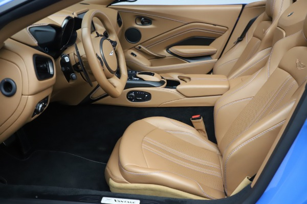 New 2021 Aston Martin Vantage Roadster for sale Call for price at Bugatti of Greenwich in Greenwich CT 06830 14