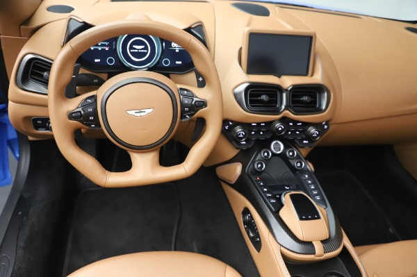 New 2021 Aston Martin Vantage Roadster for sale Call for price at Bugatti of Greenwich in Greenwich CT 06830 17
