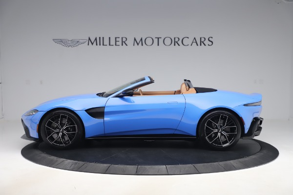 New 2021 Aston Martin Vantage Roadster for sale Call for price at Bugatti of Greenwich in Greenwich CT 06830 2