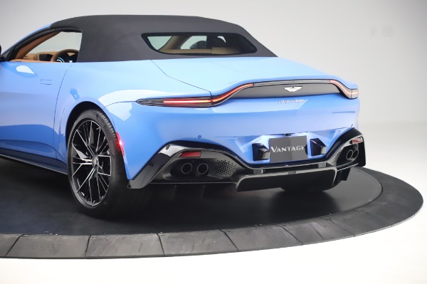 New 2021 Aston Martin Vantage Roadster for sale Call for price at Bugatti of Greenwich in Greenwich CT 06830 25