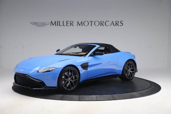 New 2021 Aston Martin Vantage Roadster for sale Call for price at Bugatti of Greenwich in Greenwich CT 06830 26