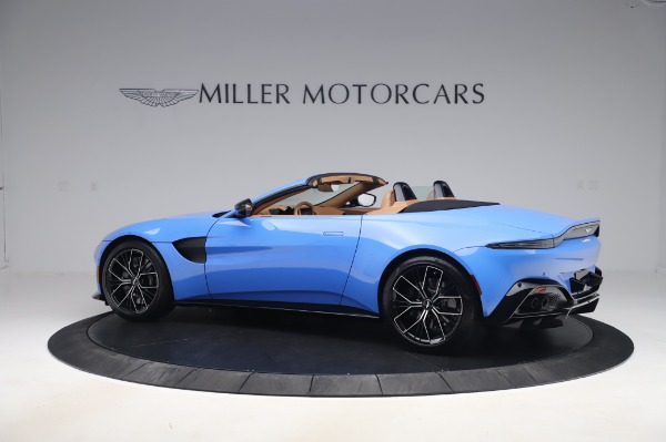New 2021 Aston Martin Vantage Roadster for sale Call for price at Bugatti of Greenwich in Greenwich CT 06830 3