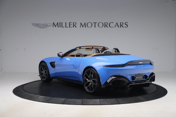 New 2021 Aston Martin Vantage Roadster for sale Call for price at Bugatti of Greenwich in Greenwich CT 06830 4
