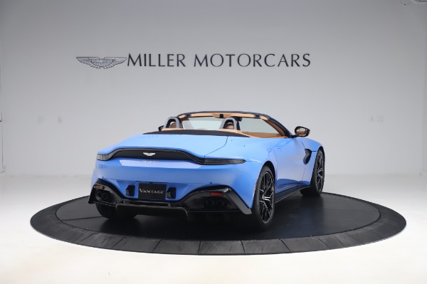 New 2021 Aston Martin Vantage Roadster for sale Call for price at Bugatti of Greenwich in Greenwich CT 06830 6
