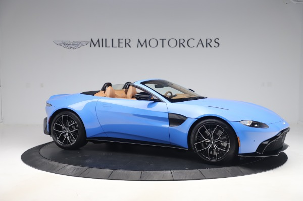 New 2021 Aston Martin Vantage Roadster for sale Call for price at Bugatti of Greenwich in Greenwich CT 06830 9