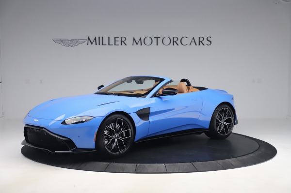 New 2021 Aston Martin Vantage Roadster for sale Call for price at Bugatti of Greenwich in Greenwich CT 06830 1